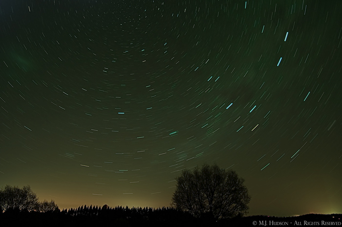 Stars over Taupo