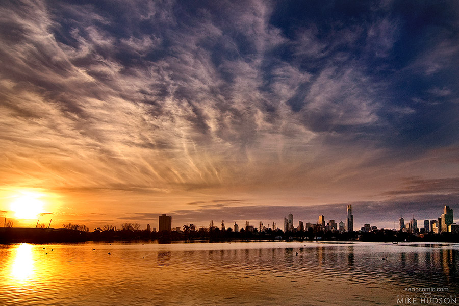 Albert Park Sunset