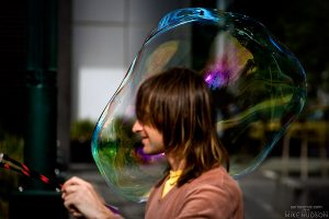 Attack of the Bubble