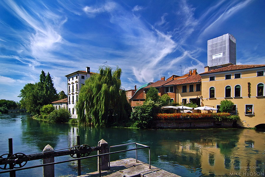 Treviso from Sile bridge