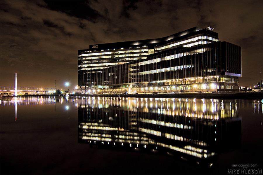 Docklands ANZ – Pre-dawn