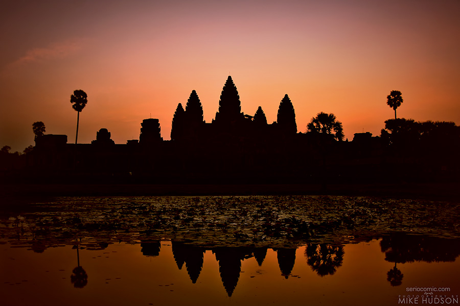 Angkor Wat First Light